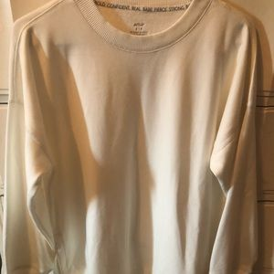 Aerie off-white pullover NWT